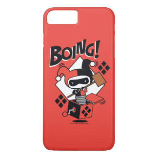 Chibi Harley-Quinn-In-A-Box With Hammer iPhone 7 Plus Case