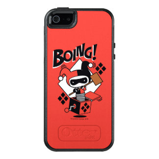 Chibi Harley-Quinn-In-A-Box With Hammer OtterBox iPhone 5/5s/SE Case