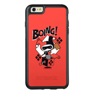 Chibi Harley-Quinn-In-A-Box With Hammer OtterBox iPhone 6/6s Plus Case