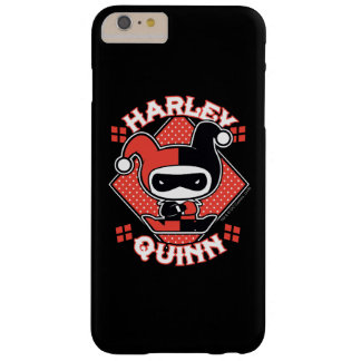 Chibi Harley Quinn Splits Barely There iPhone 6 Plus Case