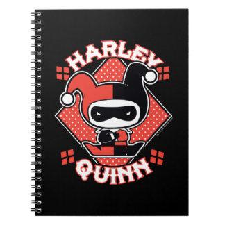 Chibi Harley Quinn Splits Notebooks