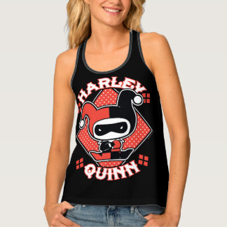 Chibi Harley Quinn Splits Singlet