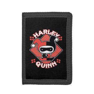 Chibi Harley Quinn Splits Tri-fold Wallet