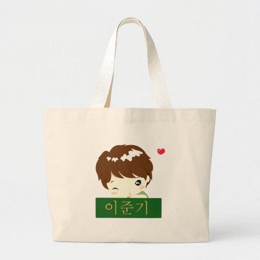 Chibi Hero Block Tote Bag