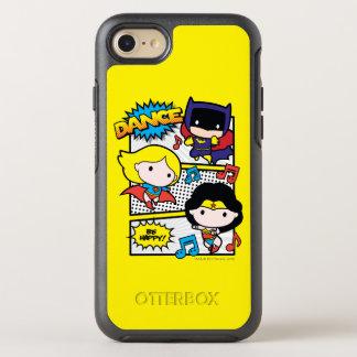 Chibi Heroes Dancing OtterBox Symmetry iPhone 8/7 Case