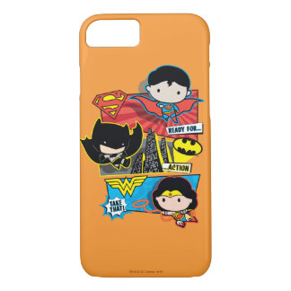 Chibi Heroes Ready For Action! iPhone 7 Case
