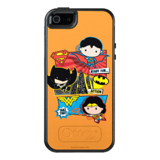 Chibi Heroes Ready For Action! OtterBox iPhone 5/5s/SE Case