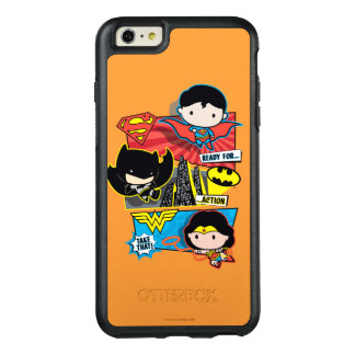 Chibi Heroes Ready For Action! OtterBox iPhone 6/6s Plus Case