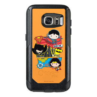 Chibi Heroes Ready For Action! OtterBox Samsung Galaxy S7 Case