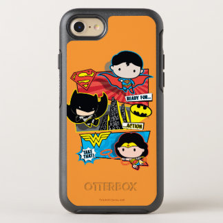 Chibi Heroes Ready For Action! OtterBox Symmetry iPhone 8/7 Case
