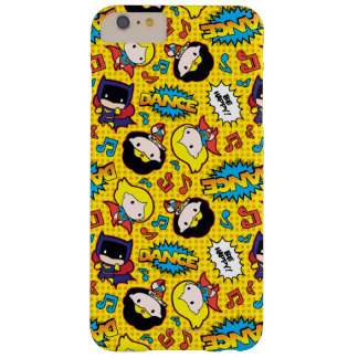 Chibi Heroine Dance Pattern Barely There iPhone 6 Plus Case