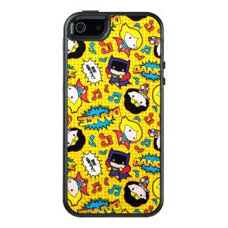 Chibi Heroine Dance Pattern OtterBox iPhone 5/5s/SE Case