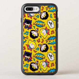 Chibi Heroine Dance Pattern OtterBox Symmetry iPhone 8 Plus/7 Plus Case