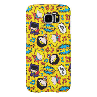 Chibi Heroine Dance Pattern Samsung Galaxy S6 Cases