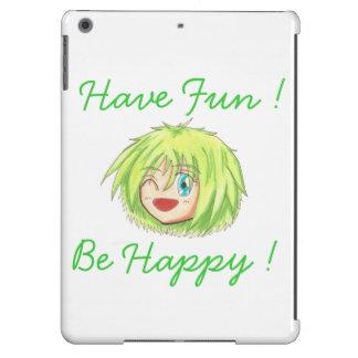 Chibi Izumi 'Be Happy' iPad Air CAse