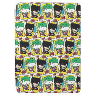 Chibi Joker and Batman Playing Card Pattern iPad Air Cover