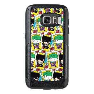 Chibi Joker and Batman Playing Card Pattern OtterBox Samsung Galaxy S7 Case