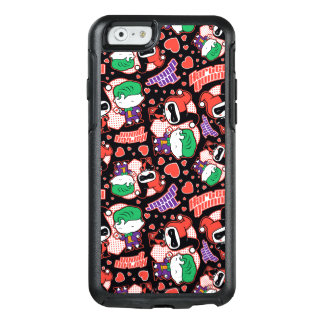 Chibi Joker and Harley Heart Pattern OtterBox iPhone 6/6s Case
