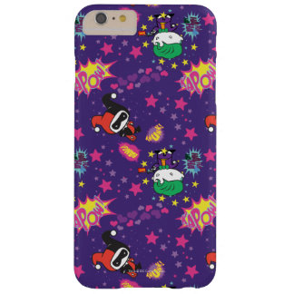 Chibi Joker and Harley Pattern Barely There iPhone 6 Plus Case