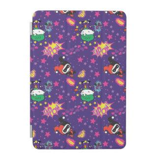 Chibi Joker and Harley Pattern iPad Mini Cover