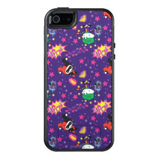 Chibi Joker and Harley Pattern OtterBox iPhone 5/5s/SE Case