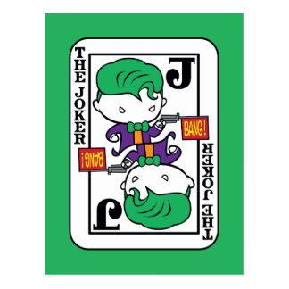 Chibi Joker Playing Card