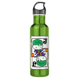 Chibi Joker Playing Card 710 Ml Water Bottle
