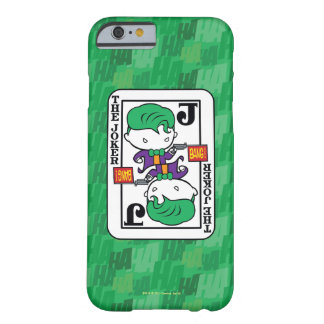 Chibi Joker Playing Card Barely There iPhone 6 Case