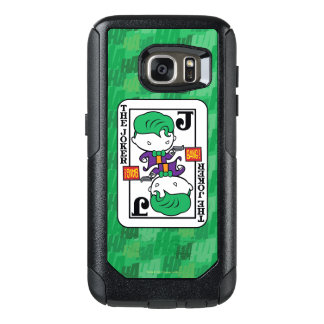 Chibi Joker Playing Card OtterBox Samsung Galaxy S7 Case