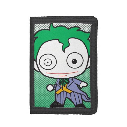Chibi Joker Trifold Wallets