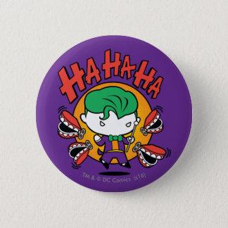 Chibi Joker With Toy Teeth 6 Cm Round Badge