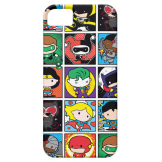 Chibi Justice League Character Pattern iPhone 5 Covers