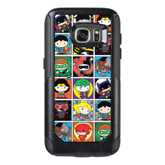 Chibi Justice League Character Pattern OtterBox Samsung Galaxy S7 Case