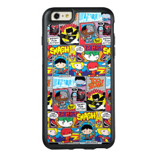 Chibi Justice League Comic Book Pattern OtterBox iPhone 6/6s Plus Case