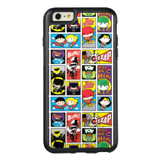 Chibi Justice League Compilation Pattern OtterBox iPhone 6/6s Plus Case