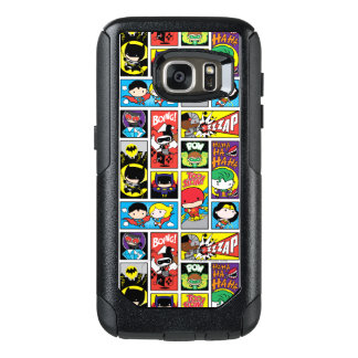 Chibi Justice League Compilation Pattern OtterBox Samsung Galaxy S7 Case