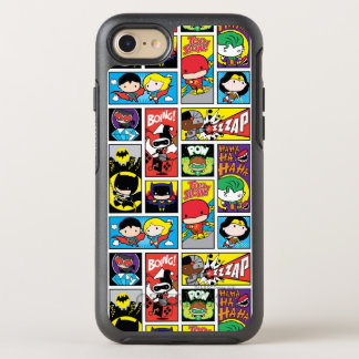 Chibi Justice League Compilation Pattern OtterBox Symmetry iPhone 8/7 Case