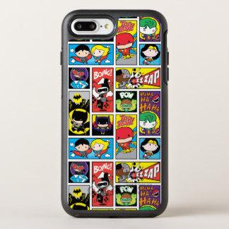 Chibi Justice League Compilation Pattern OtterBox Symmetry iPhone 8 Plus/7 Plus Case