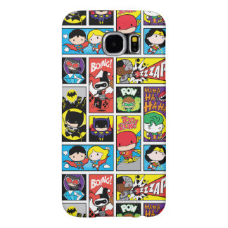 Chibi Justice League Compilation Pattern Samsung Galaxy S6 Cases
