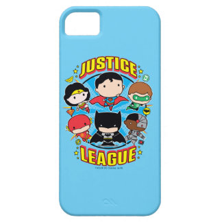 Chibi Justice League Group iPhone 5 Cover