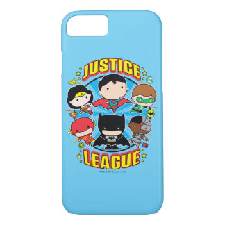 Chibi Justice League Group iPhone 8/7 Case