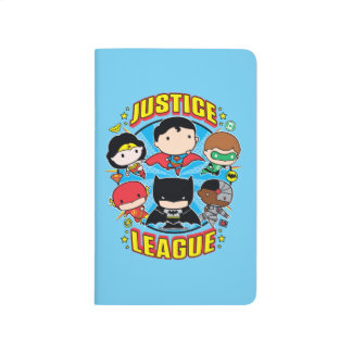 Chibi Justice League Group Journal