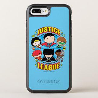 Chibi Justice League Group OtterBox Symmetry iPhone 8 Plus/7 Plus Case