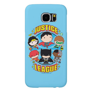 Chibi Justice League Group Samsung Galaxy S6 Cases