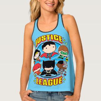 Chibi Justice League Group Singlet