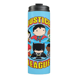 Chibi Justice League Group Thermal Tumbler
