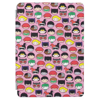 Chibi Justice League Head Pattern iPad Air Cover