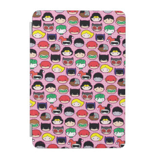 Chibi Justice League Head Pattern iPad Mini Cover