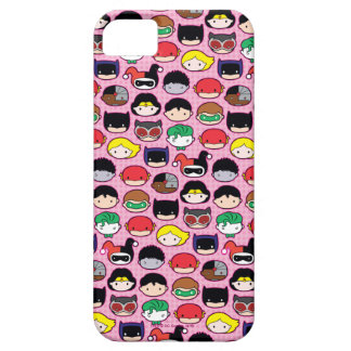 Chibi Justice League Head Pattern iPhone 5 Cover