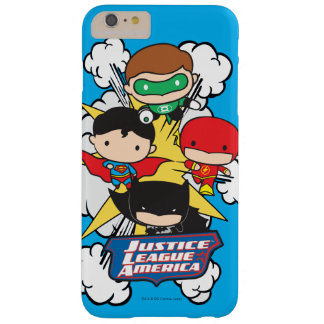 Chibi Justice League of America Explosion Barely There iPhone 6 Plus Case